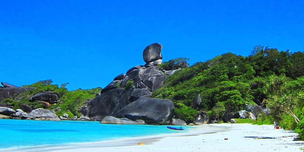 Similan Island Eight
