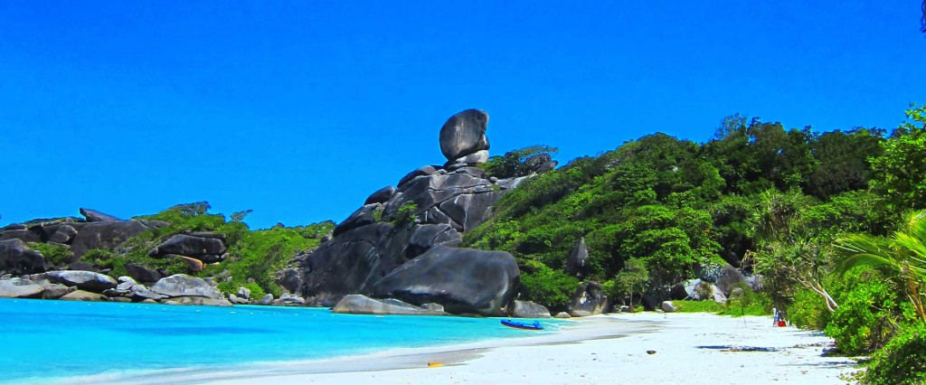 Similan Island Eight in Thailand