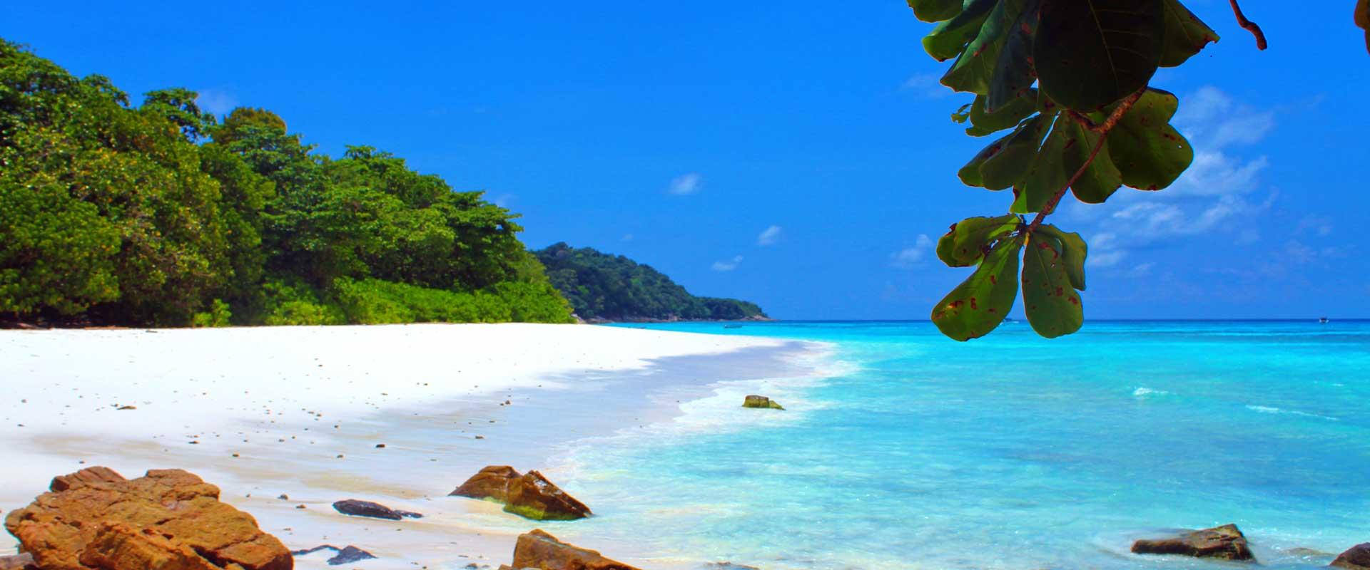 Tachai Beach in the SImilan National Park