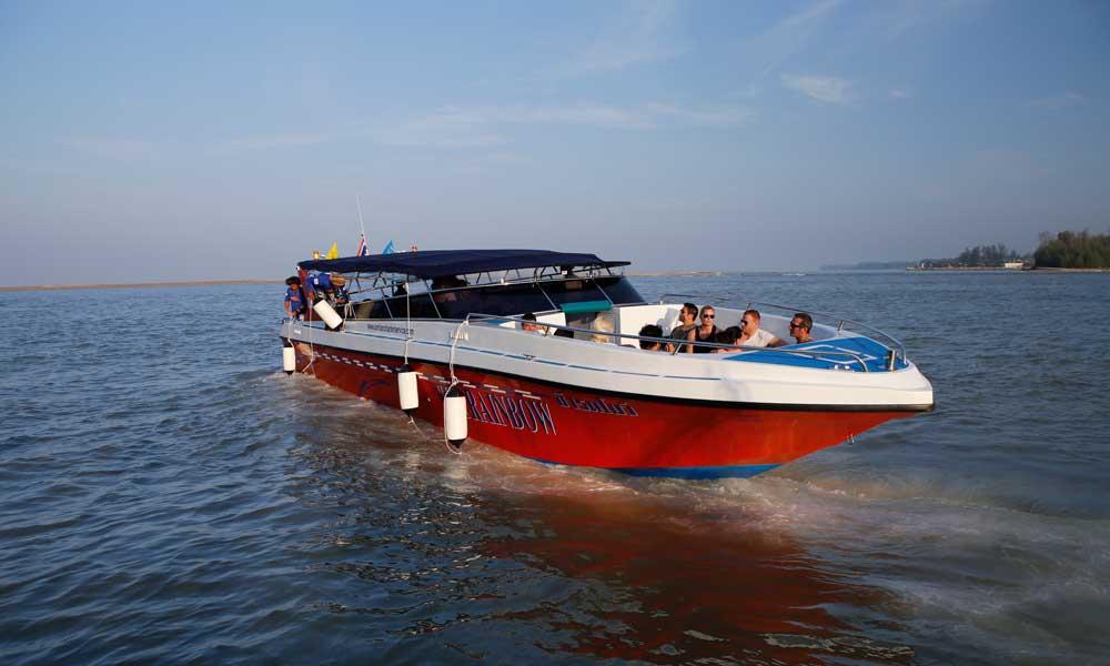 Similancharter speedboat