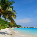 Beach at Princess Bay on Similan Island Four