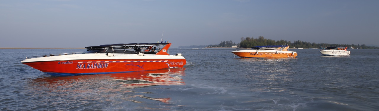 speedboat charter fleet