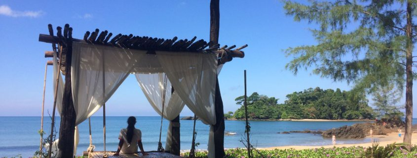 Massage hut on Koh Prathong